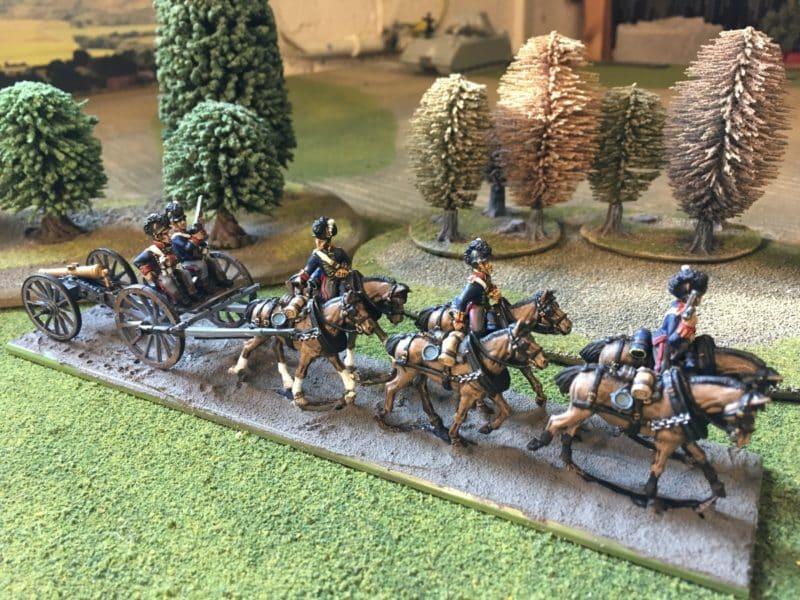 British Horse Artillery Limber completed - awaiting basing.