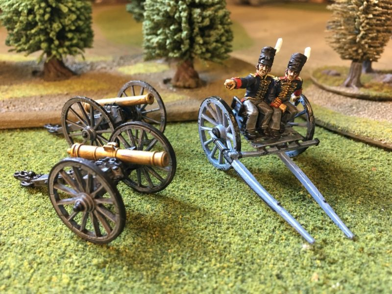 Foot Artillery Cannon and Limber awaiting weathering and horses!