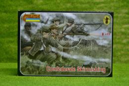 Confederates Skirmishing 1/72 Scale Strelet 158