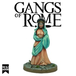 Gangs of Rome Flavia Graecina the Domina War Banner Footsore Miniatures