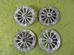 Victorious Miniatures Artillery Wheels – pack of four NAPBRA06