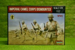 Imperial British Camel Corps Dismounted 1/72 Strelets set M123