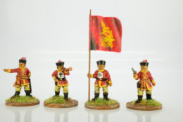 Victorious Miniatures Chinese Regular Command (Mandarin Hat) BOXINF15