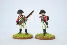 Victorious Miniatures British Line Infantry Bicorn Centre Coy. Firing  NAPBR15