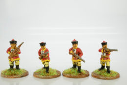 Victorious Miniatures Chinese Regular Infantry (Mandalin Hat) BOXINF16