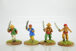 Victorious Miniatures Chinese Boxer Swordsmen Pack C BOXINF05
