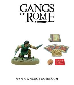 Gangs of Rome Gladiator Duodecimus War Banner Footsore Miniatures WBGOR012