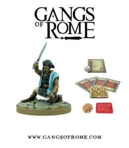 Gangs of Rome Gladiator Quartusdecimus War Banner Footsore Miniatures WBGOR014