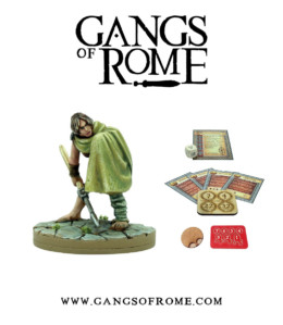 Gangs of Rome Gladiator Quintusdecimus War Banner Footsore Miniatures WBGOR015