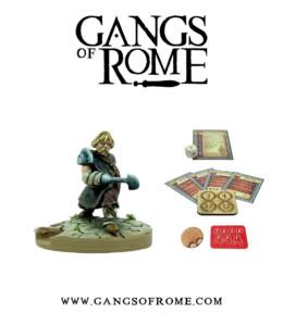 Gangs of Rome Gladiator Tertiusdecimus War Banner Footsore Miniatures WBGOR013