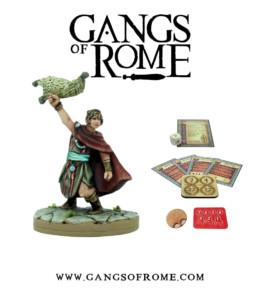 Gangs of Rome Gladiator Undecimus War Banner Footsore Miniatures WBGOR011