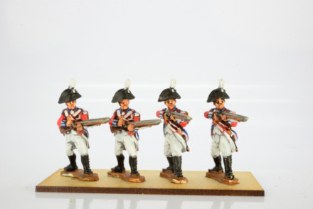 Victorious Miniatures British Line Infantry Bicorn Flank Coy. Firing  NAPBR16