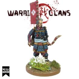 Samurai with Yumi (bow) Warring Clans from War Banner SAM004