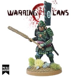 Samurai with Kanabo Warring Clans from War Banner SAM002