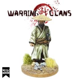 Traveling Samurai Warring Clans from War Banner SAM010