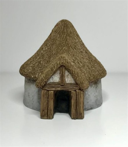 Dark Age Roundhouse-Battle Scale Buildings 10mm – 15mm scale 10B025
