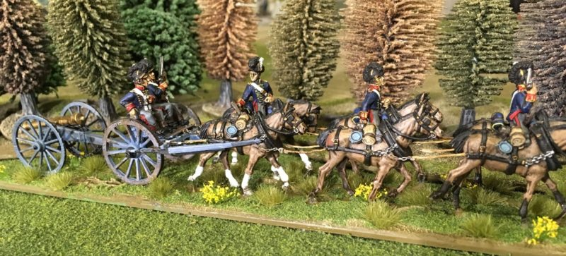Horse artillery Advance!