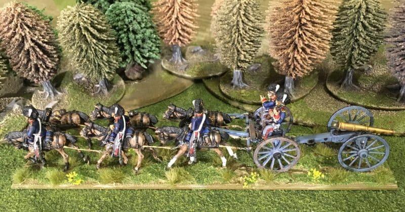 Horse Artillery Limber complete.