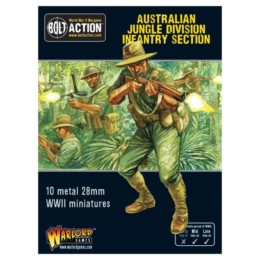 Australian Jungle Division Infantry Section Bolt Action Warlord Games 28mm