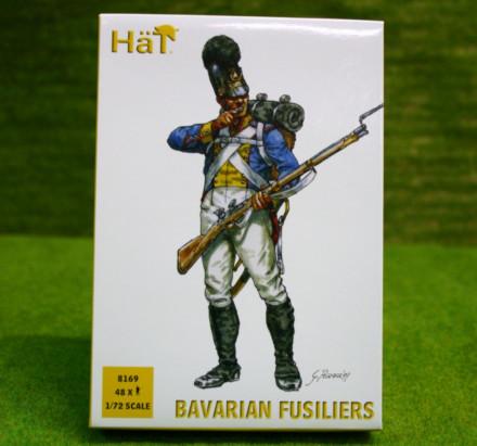 HaT NAPOLEONIC BAVARIAN FUSILIERS 1/72 Scale 8169