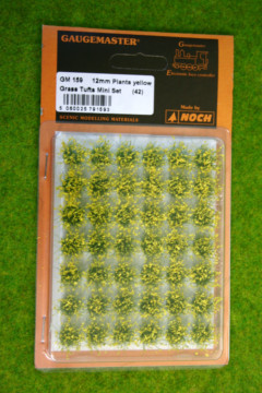 Gaugemaster YELLOW PLANTS 12mm GM159