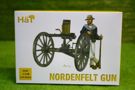 HaT NORDENFELT GUN 1/72 Scale  8180