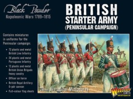 BLACK POWDER BRITISH NAPOLEONIC STARTER SET -PENINSULAR – Warlord Games Black Powder