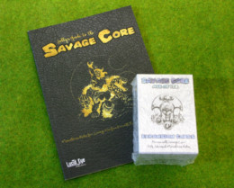 SAVAGE CORE Rule Book and CARD SET DEAL Lucid Eye Publications