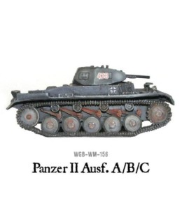 German Panzer II Bolt Action Warlord Games 28mm