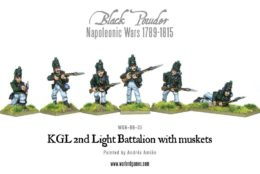 KGL 2nd Light Battalion Napoleonic Infantry Warlord Games 28mm