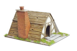 Burrows & Badgers PRICKLY JANES COTTAGE MDF BUILDING Sarissa Precision BB01