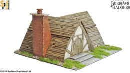 Burrows & Badgers RUMBOLT'S PLACE MDF BUILDING Sarissa Precision BB02