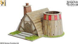 Burrows & Badgers BROTHER MORTIMER'S DEN MDF BUILDING Sarissa Precision BB03