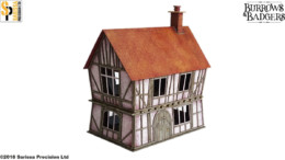 Burrows & Badgers DUNTRACKIN HOUSE MDF BUILDING Sarissa Precision BB04