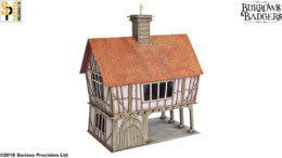 Burrows & Badgers HIGHCLERE HALL MDF BUILDING Sarissa Precision BB05