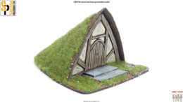 Burrows & Badgers SALVORS BURROW MDF BUILDING Sarissa Precision BB11