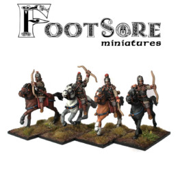 Byzantine Armoured Horse Archers Footsore Miniatures SAGA Dark Ages BYZ100