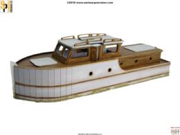 River Cruiser 'Dunkirk' Little Boat G099 Laser Cut MDF 28mm