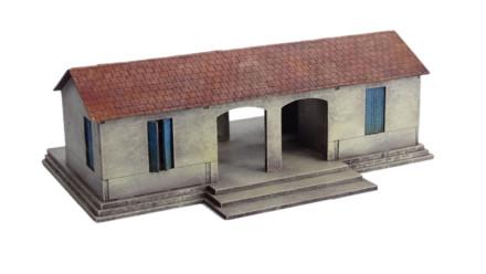 North African/Colonial El Alamein Railway Station 20mm Laser cut MDF kit N320