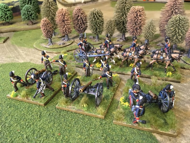Another shot of my Royal Horse Artillery Battery