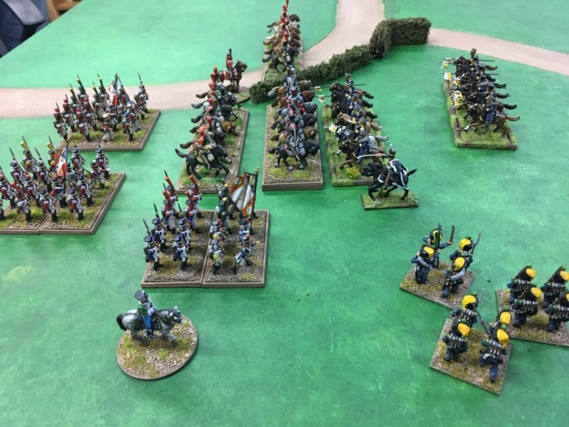 Prussian lancers charge home!