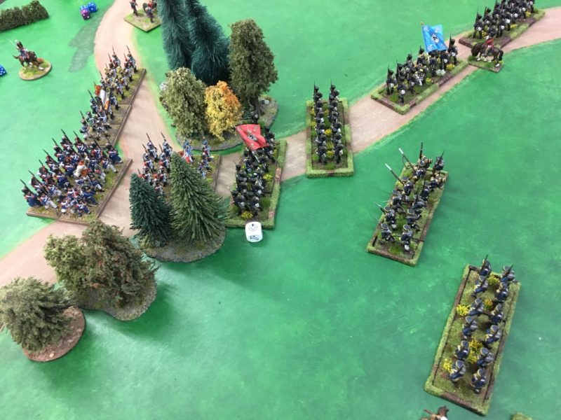 Prussians hold the road to Brussels!