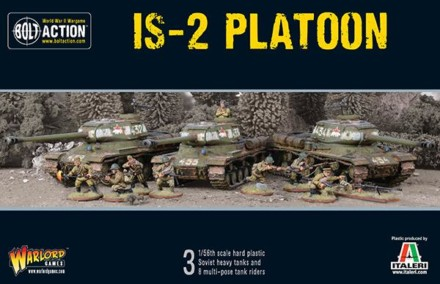 Soviet IS2 PLATOON Bolt Action Warlord Games 28mm