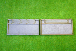 BLACK POWDER NAPOLEONIC MOVEMENT TRAYS Battalion Infantry Bases