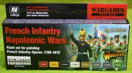 FRENCH INFANTRY NAPOLEONIC WARS COLOURS PAINTING SET Model Colour 8 bottle set