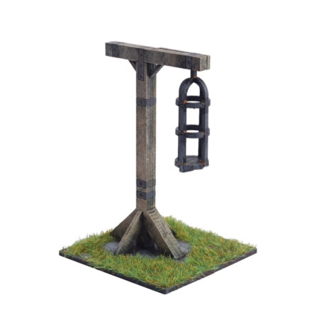 Gibbet 28mm Laser cut MDF scale Building L018