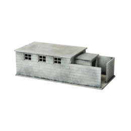 Equipment Shed N124 28mm Laser cut MDF Building Terrain