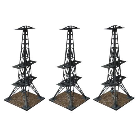 Radar Tower Transmitters N127 Laser Cut MDF 28mm