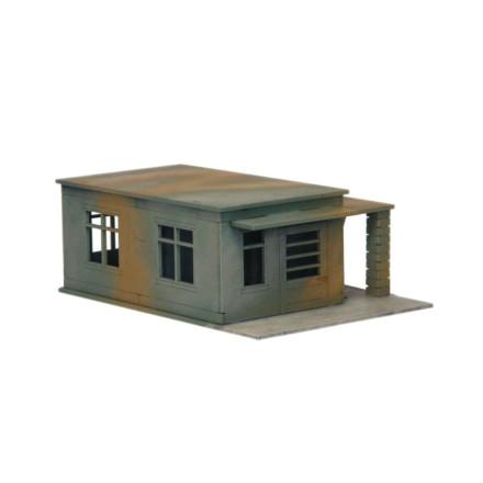 Guard House/Bike Shelter N136 28mm Laser cut MDF Building Terrain