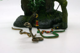 GIANT SNAKES! – Pack of 4 DeeZee Miniatures DZ36 28mm Scale Fantasy Wargames & RPG